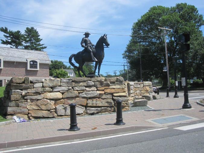 TR statue in OB