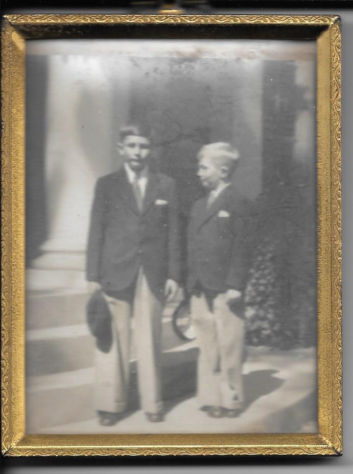 Bob and Matt at Brookwood Hall